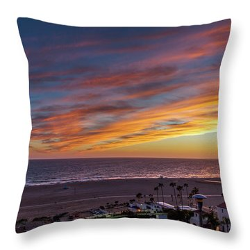 A Night Out At The Jonathan Throw Pillow