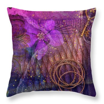 A Night Out Throw Pillow