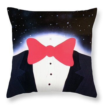 A Night Out With The Stars Throw Pillow