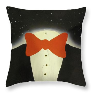 A Night Out With The Stars Throw Pillow by Thomas Blood