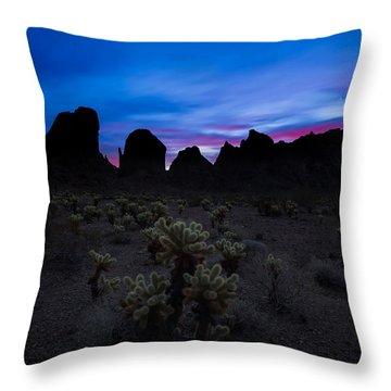 A Nights Dream  Throw Pillow