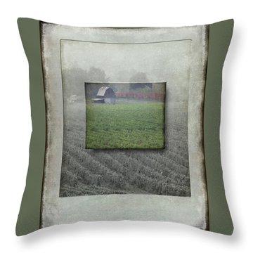 A Noir Tale Throw Pillow by Jeffrey Jensen