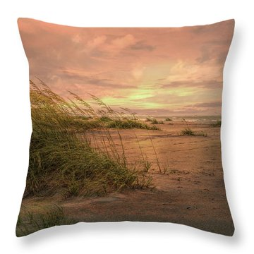 A Painted Sunrise Throw Pillow