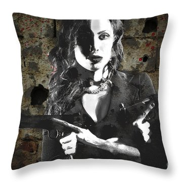A Pair Of 1911 Throw Pillow