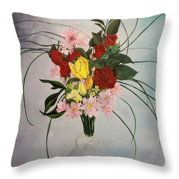 A Paslm Of Forgiveness Throw Pillow by Jane Autry