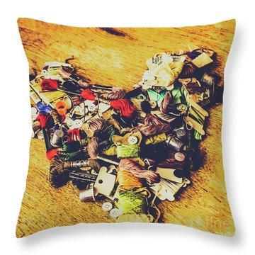 Threads Throw Pillows