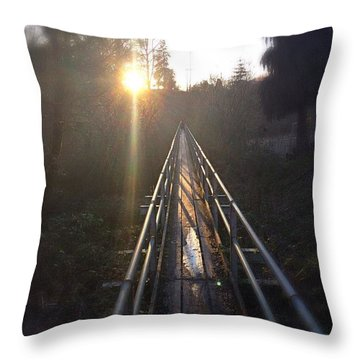 A Path Into The Unknown Throw Pillow
