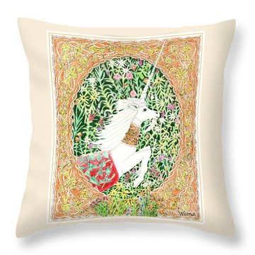 A Pawn Escapes Limited Edition Throw Pillow by Lise Winne