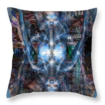 A Perfect Balance Throw Pillow