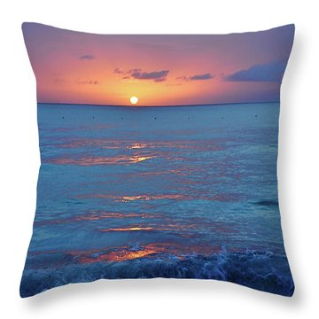A Perfect Finish Throw Pillow by Valerie Rosen