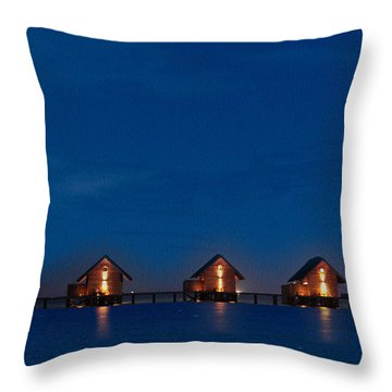 A Perfect Paradise Throw Pillow