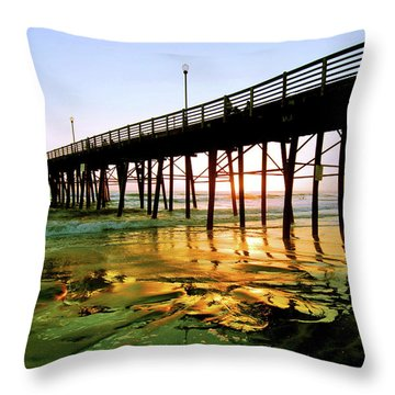 Throw Pillow featuring the photograph A Perfect Place by Howard Bagley