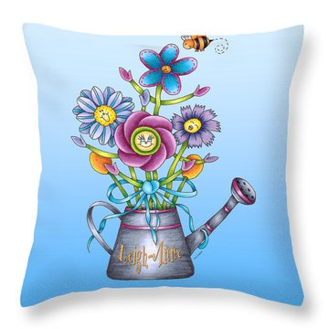 A Personalized Pillow Throw Pillow by Tracy Campbell