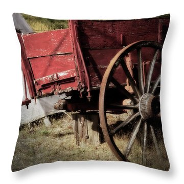 A Piece Of Our History - 365-69 Throw Pillow