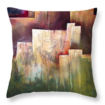 A Place For Solace Throw Pillow