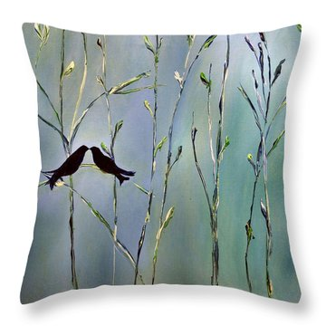 A Place For Us Throw Pillow by Dolores  Deal
