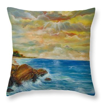 A Place In My Dreams Throw Pillow