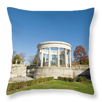 Throw Pillow featuring the photograph A Place Of Peace by Jose Rojas