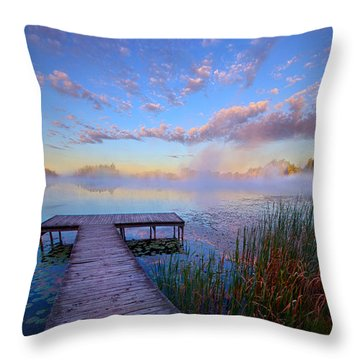 A Place Of Quiet Reflection Throw Pillow