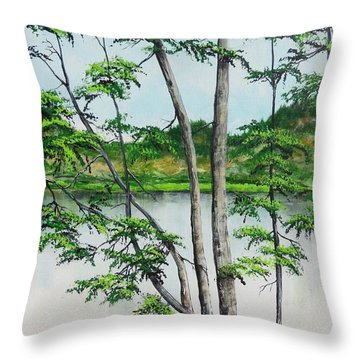 A Place Of Refuge Throw Pillow