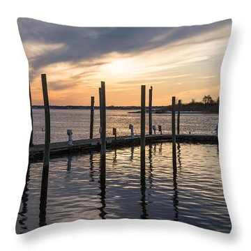 A Place On The River Throw Pillow