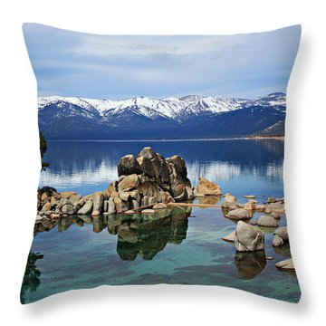 Throw Pillow featuring the photograph A Place To Call Home by Sean Sarsfield