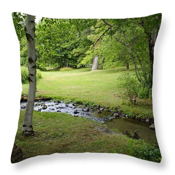 Throw Pillow featuring the photograph A Place To Dream Awhile by Ben Upham III