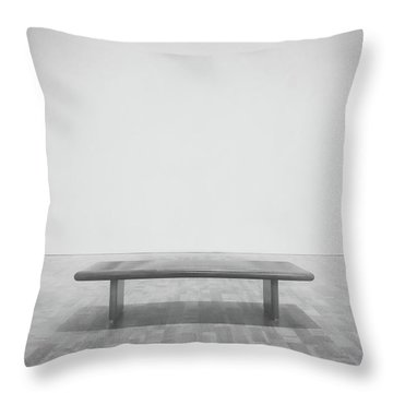 A Place To Sit 3 Throw Pillow