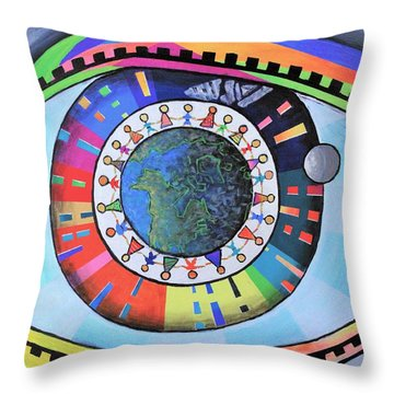 A Pleasant Fiction Throw Pillow