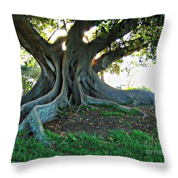 A Poem As Lovely As A Tree Throw Pillow by Leanne Seymour