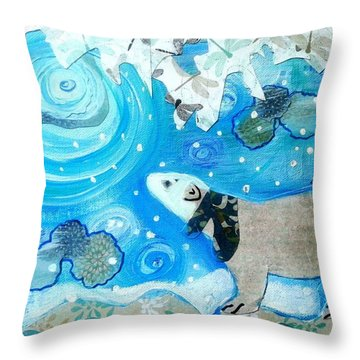A Polar Moment Throw Pillow