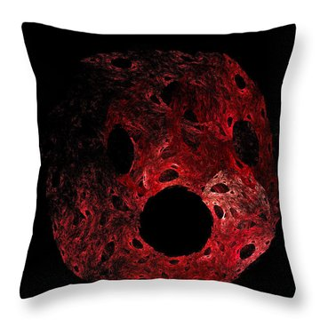 A Portrait Of Oh Throw Pillow