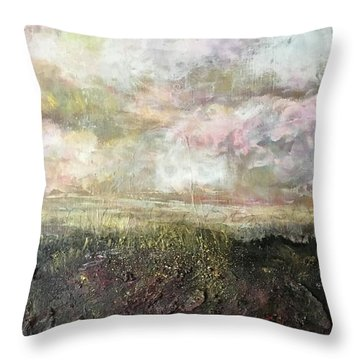 A Prefect Day In The Peaks Throw Pillow