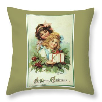 A Present For You Throw Pillow