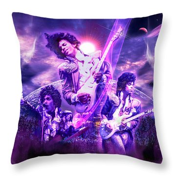 A Prince For The Heavens  Throw Pillow