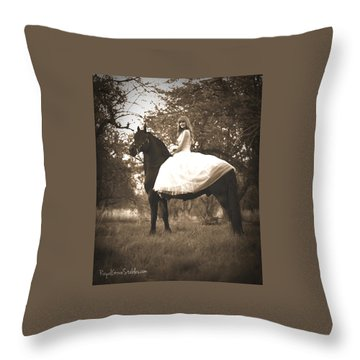 A Princess Dream Throw Pillow