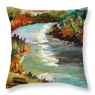 A Private View Throw Pillow