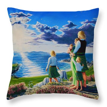 A Promising Future Throw Pillow