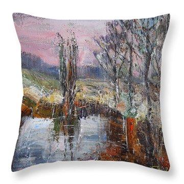 A Puff Of Autumn IIi Throw Pillow