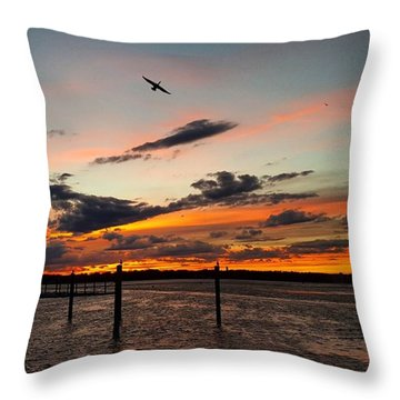 Soarin' Throw Pillow