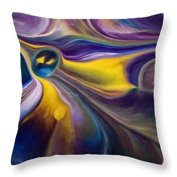 A Question Of Balance Throw Pillow