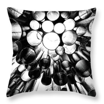 A Question Of Perspective 2 Sibelius Monument Throw Pillow
