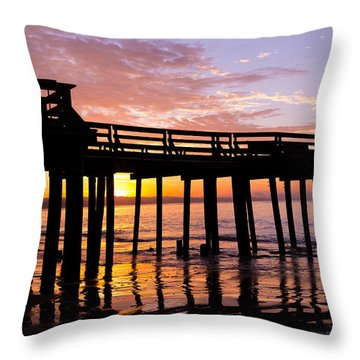A Quiet And Beautiful Start Throw Pillow