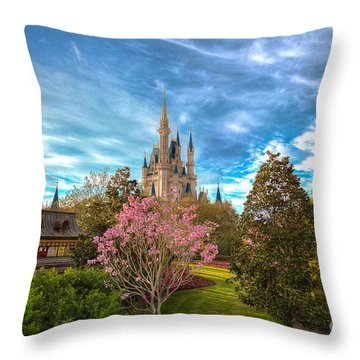 A Quiet Countryside Throw Pillow