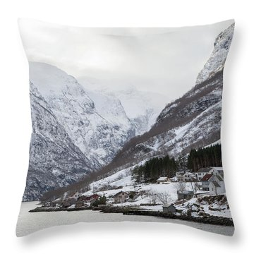 Throw Pillow featuring the photograph A Quiet Life by David Chandler