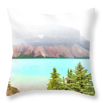Throw Pillow featuring the photograph A Quiet Place by John Poon