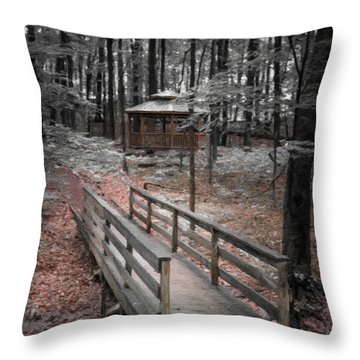 A Quiet Place Throw Pillow