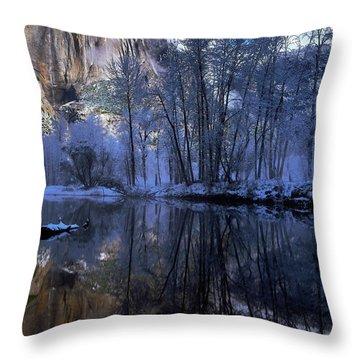 A Quiet View Throw Pillow