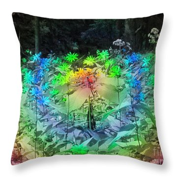 A Rainbow Kind Of Day Throw Pillow