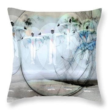A Rainbow Of Souls Throw Pillow